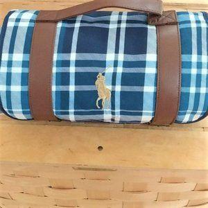 Ralph Lauren polo outdoor packable picnic blanket